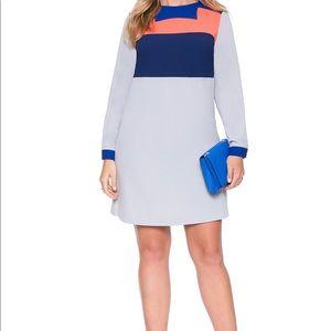 Eloquii Dresses - Colorblock Tunic Dress